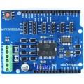 L298P Arduino kompatibelt Motor Shield UNO R3 MEGA2560 DC-Motor Stepper-motor Driver Modul 2A H-Bridge 2-veis