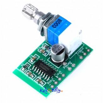 PAM8403 2-Kanals Audio Forsterker Modul 3W x 2 m/ Volum Kontroll - USB Strøm