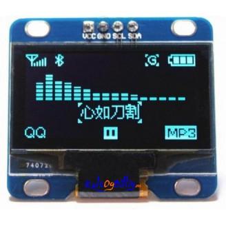 1.3 Inch I2C IIC Serial 128 x 64 OLED LCD LED Skjerm Modul For Arduino