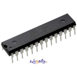 ATMEGA328P-PU Microcontroller m/ ARDUINO UNO Bootloader