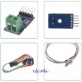 MAX6675 Modul + K Type Thermocouple - Termoelement Sensor For Arduino