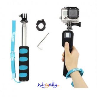 Selfie Stang Monopod/ Tripod-forlenger for Gopro Hero 2 3 3+