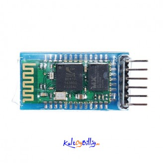 HC-05 Trådløs Bluetooth Serial Transceiver Modul Slave Og Master for Arduino