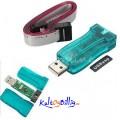 USBASP USBISP AVR Programmerer 10 Pin Kabel USB ATMEGA8 /128 For Arduino m/ overgang til 6 Pin