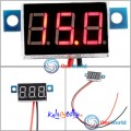 Mini Digital Voltmeter 4.5-30V Rød LED