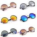 Runde Retro Solbriller for Kvinner og Menn