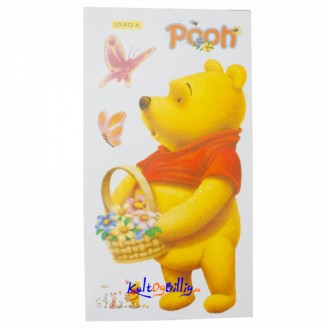 Pooh Partners Cartoon Children´s Room Wall Stickers