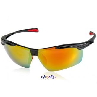 Sporty solbriller med polarisert linse