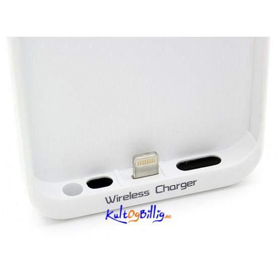 ... lade-deksel for tru00e5dlu00f8s lading. For iPhone 5. Sort eller hvit farge