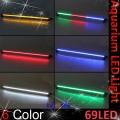 LED belysning. 62cm nedsenkbar led strip for akvarium. 69 LED-dioder.