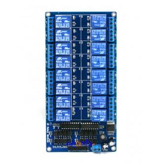 SainSmart 16-Channel 12V Relay Module for Arduino