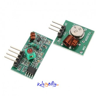 433Mhz RF sender og  mottaker for Arduino ARM MCU Wireless
