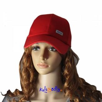 Bomull Baseball Cap - Rød