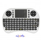 2.4GHz wifi Trådløst Mini-tastatur med Touchpad for Android eller PC
