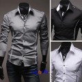 Elegant slim fit skjorte