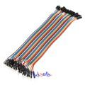 40 stk. 20cm Han til Hun Jumper kabel (for bl.a. Arduino)