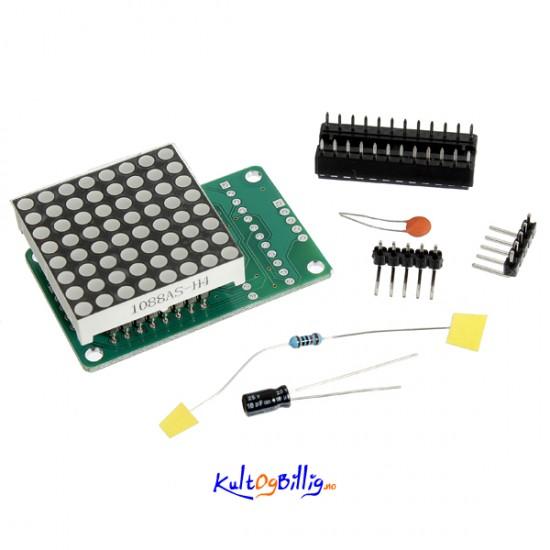 Max dot matrix modul scm kontroll for arduino