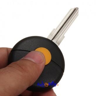 Benz Smart 98-12 1-knapps Fjernkontroll/ Nøkkel. Kun skall, ingen elektronikk