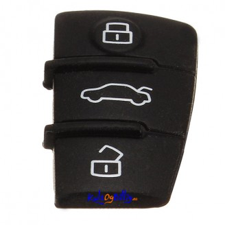 Audi A3 A4 A5 A6 A8 - Erstatnings-knapper for fjernkontroll - fob - Nøkkel