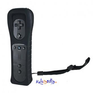 Sort Trådløs Kontroller + Silikon deksel For Nintendo Wii