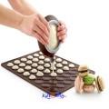 Kake-sprøyte i silikon for Makron-kaker eller til dekorering