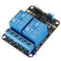 Arduino kompatibel 2-kanals 5V Relé Modul