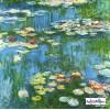 """Lerrets-trykk Claude Monet - """"Vannliljer"""""""