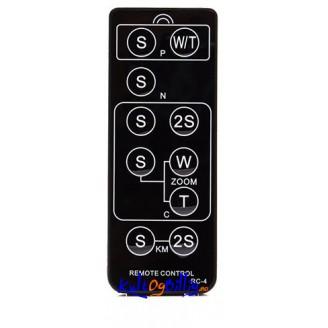 RC-4 Infrarød fjernkontroll for Pentax / Canon / Nikon / Sony / Konica Minolta