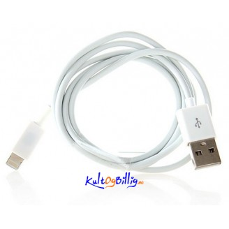 Lightning 8-pin til USB Data/ lade kabel for Apple iDevices