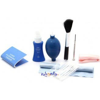 Professional 8-in-1 Cleaning Kit for Digital Cameras