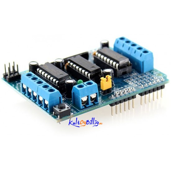 Adafruit Compatible Motor Control Shield For Arduino
